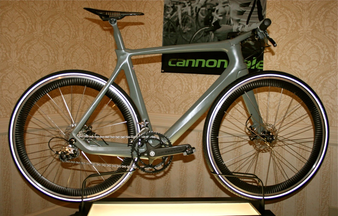 Cannondale's Quick concept bike: a mix of several Cannondale System Integration functions