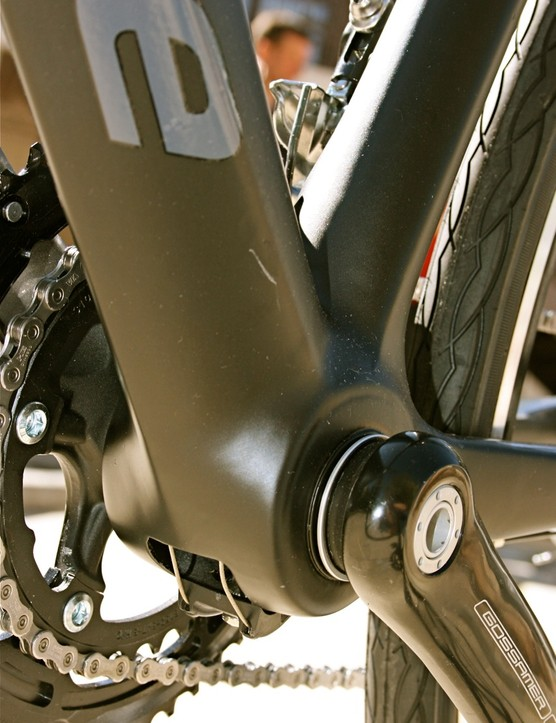 Cannondale's pioneering BB30 oversized bottom bracket shell