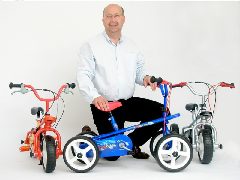 The new Quadra Byke can be swapped between four, three and two wheels as your child develops