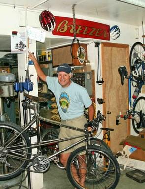 Joe Breeze, mountain bike pioneer and Fairfax, California resident.