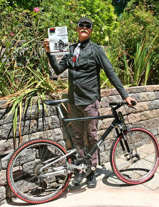 Gary Fisher, bicycling personna and San Francisco resident.
