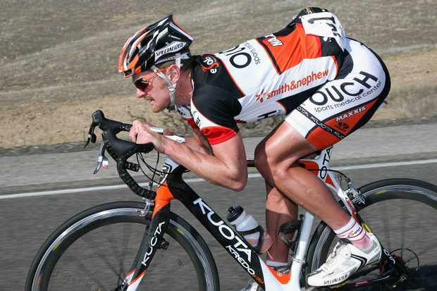 Floyd Landis (Team OUCH) competes in Stage 5 of the AMGEN Tour of California from Visalia to Paso Robles on February 19, 2009 in San Luis Obispo County, California.