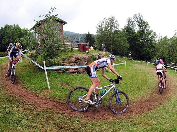 Wendy Simms racing in Windham, New York at a US National series event