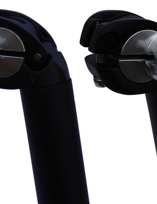 Swiss company ISA have designed a stem and seatpost that can be adjusted in length