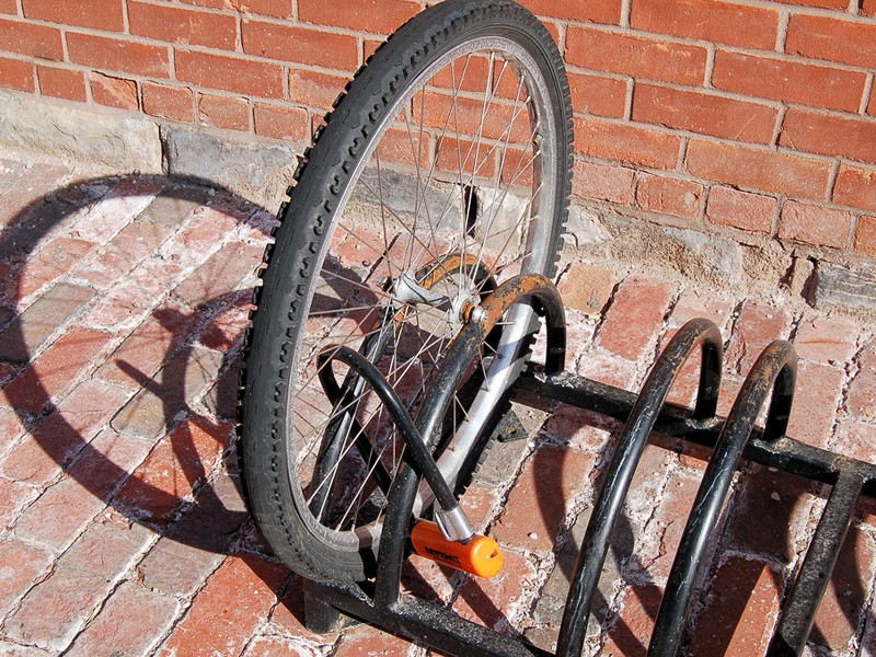 Beware when buying a second-hand bike, as it could be stolen