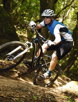 The alchemist takes fast singletrack in its stride