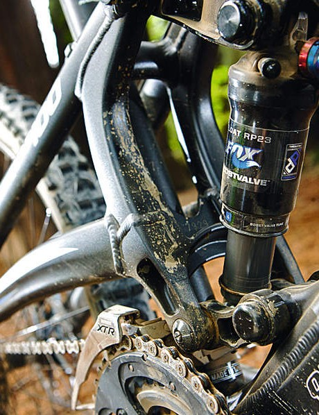 tweaked suspension means that propedal is rarely needed