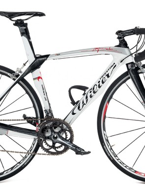 The 2010 Wilier Imperiale aero road bike, with Campagnolo.