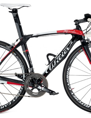 The 2010 Wilier Imperiale aero road bike, with SRAM.