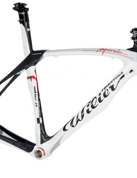 The 2010 Wilier Imperiale aero road frameset.