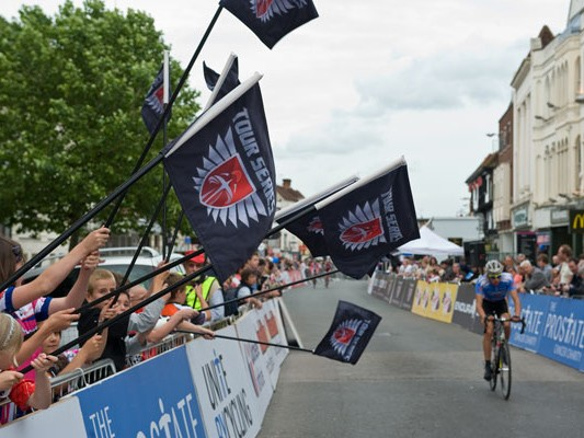 Some 100,000 people watched the inaugural Tour Series