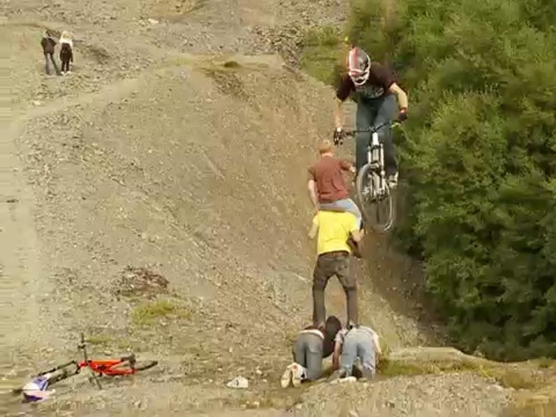 Messing in the quarry