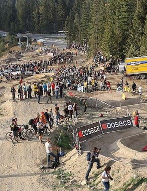 Race action from Dual Slalom