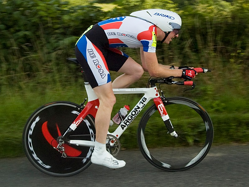 Matt Bottrill won the fifth round of the Rudy Project series