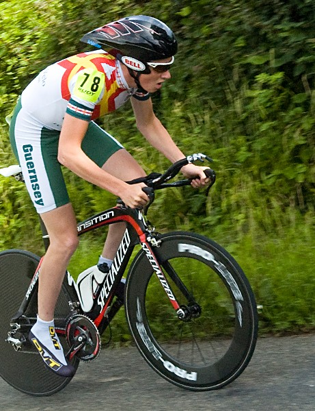 Daniel Arblaster finished second in the elite category behind Bottrill