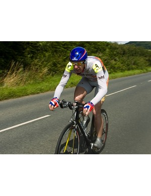 Simon Richardson was unbeatable in the disabled category