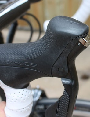 Unlike on 7900, reducing the reach on Di2 doesn't leave any unsightly gaps