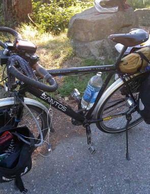 James Bowthorpe's trusty belt-driven Santos Travelmaster