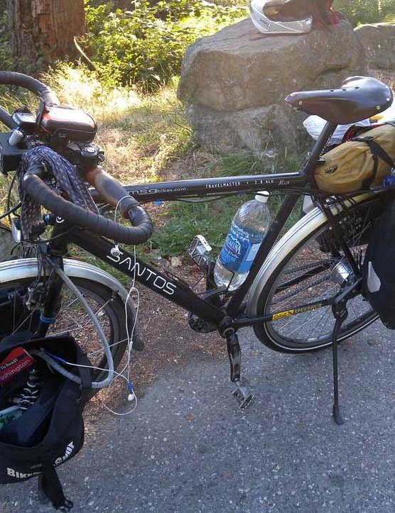 James Bowthorpe's trusty belt-driven Santos Travelmaster