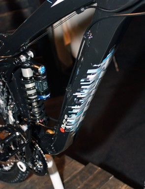 The Scratch frame will use beefy aluminum tubing throughout for durability.