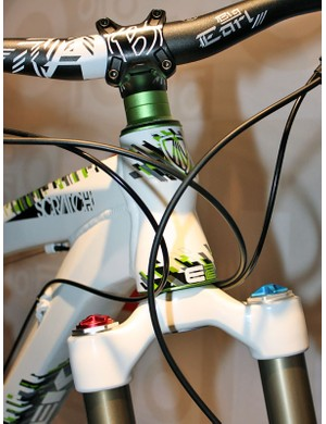 Scratch frames will all utilize Trek's E2 tapered head tube design for a stiffer front end.