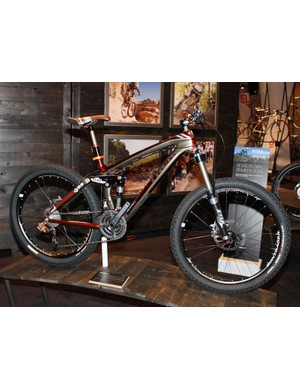 The new carbon Remedy 9.9 will likely be a highly sought-after all-mountain bike for '10.