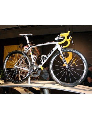 Alberto Contador's (Astana) custom paint job will be added to the list of available color schemes in Trek's Project One program.