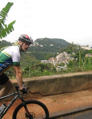 Ben Talbot about to take on the world's longest organised bike tour