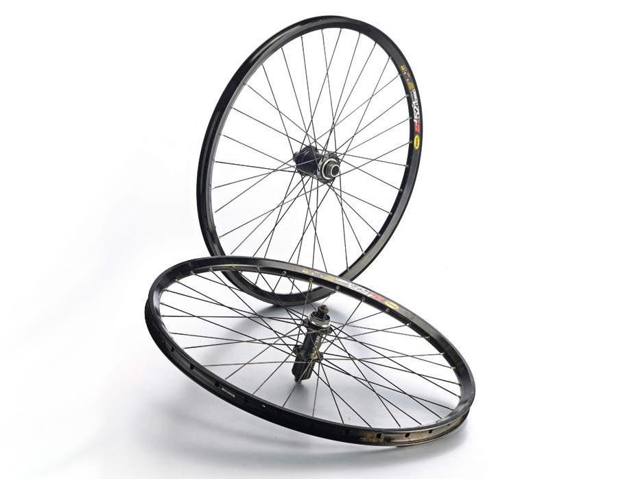 Shimano SLX 20mm/Mavic EN521D Wheelset