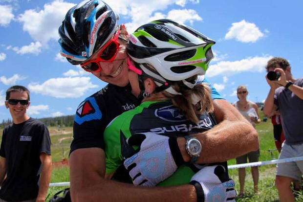 Jeremy Horgan-Kobelski and wife Heather Irmiger are both on the US team for the mountain bike world championships in September