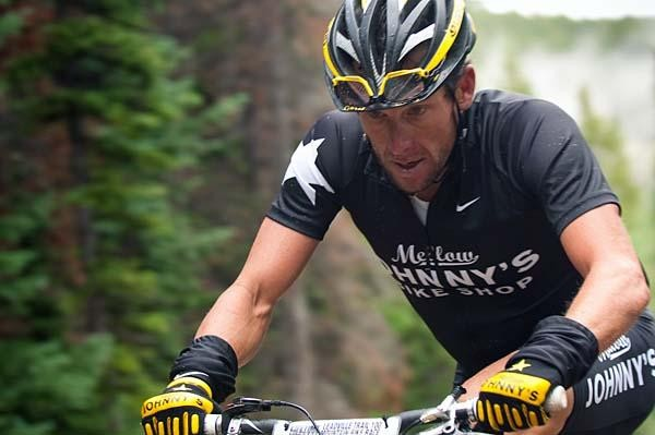 Lance Armstrong was in a league of his own in the Leadville 100 this year