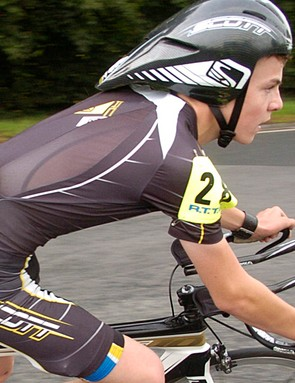 Joshua Teasdale, 15, did 205 miles