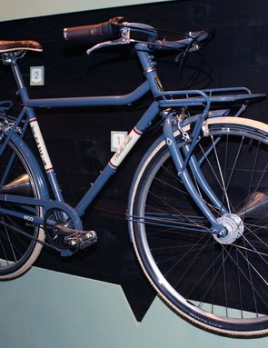The Trek Belleville may be mass-produced but it boasts a number of visual cues we're more accustomed to seeing at the North American Handmade Bicycle Show