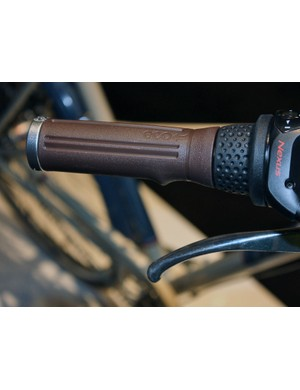 The hard plastic Eco grips on the Belleville are designed to be long lasting but are also labelled for easy recycling when they wear out