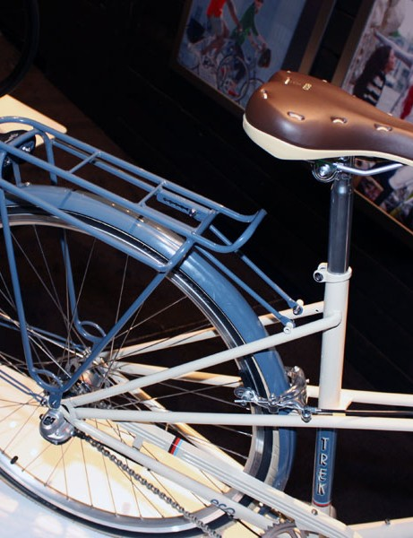 The Belleville frames and racks are powdercoated for a durable finish - plus the overspray can be reclaimed and reused