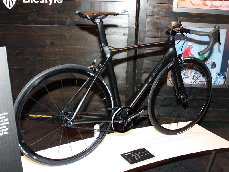 We first showed you this over-the-top commuter back in April at Sea Otter but now it has a name (and a part number!): the District Carbon