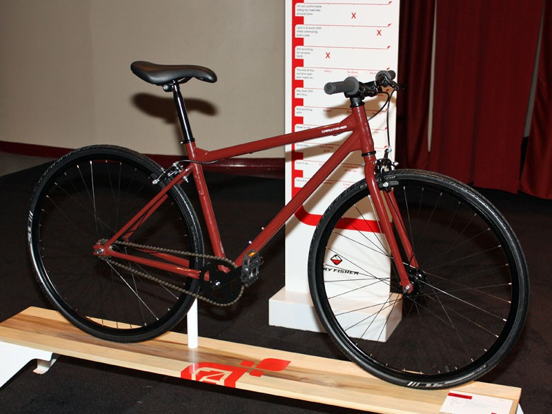 Gary Fisher aims its new Gritty at urban commuters on a tight budget who want a tough-looking machine