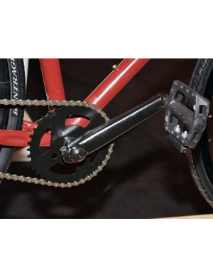 The Gritty even features three-piece steel cranks