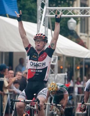 John Murphy (OUCH pb Maxxis) was the first American across the line and the new champ.