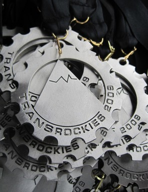 All TransRockies race finishes received this alu prize to show off back home.