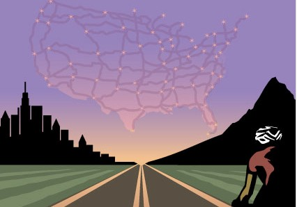 The US Bicycle Route System is taking shape after receiving funding.