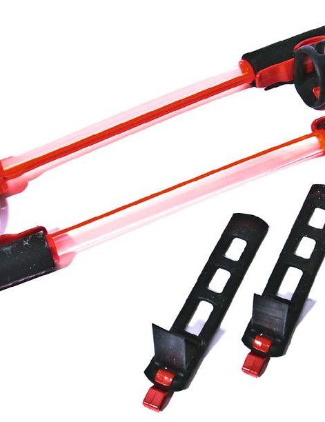 Fibre optic rods provide great visibility