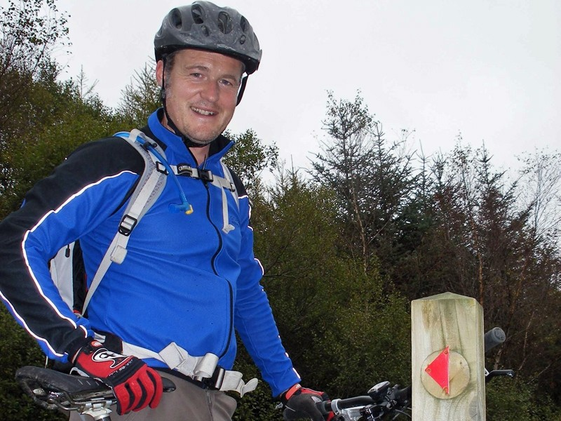 New North Wales mountain bike ranger Andy Braund