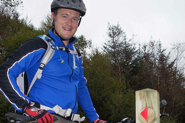 New North Wales mountain bike ranger Andy Braund