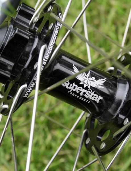 Superstar Superleggera XCR Pro Scandium wheelset
