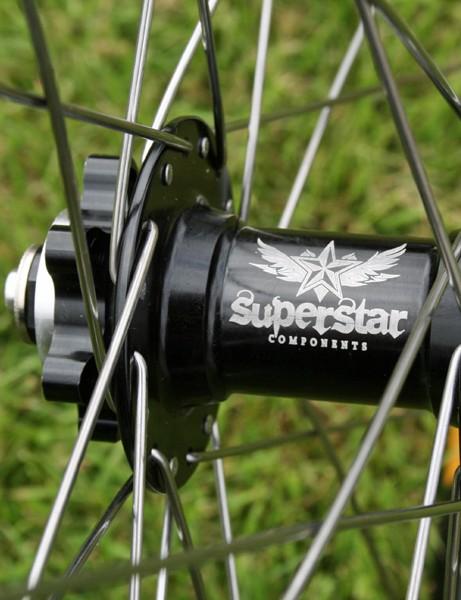 Superstar Tech2 XC Switch wheelset
