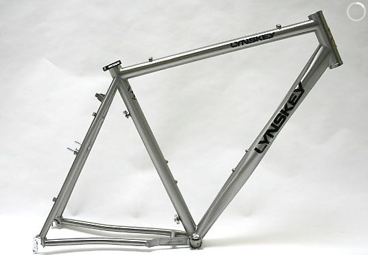 The 2010 Lynskey ProCross titanium frame.