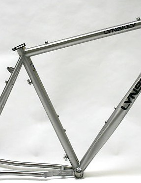 The 2010 Lynskey ProCross titanium frame.