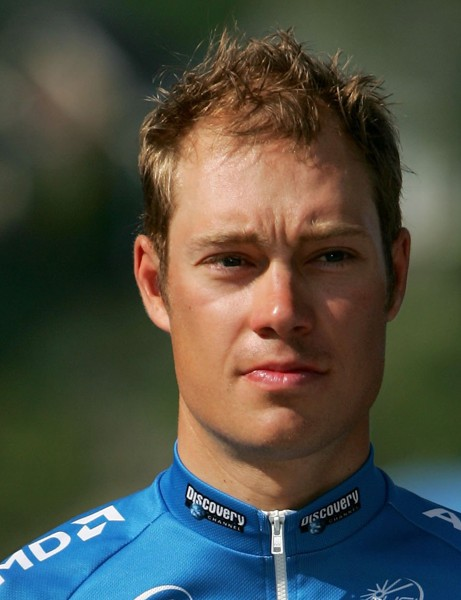 Tom Danielson during the 2006 Tour de Georgia, when he was riding for the Discovery Channel Pro Cycling Team