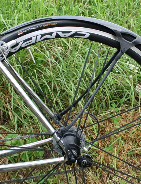 The Crud Roadracer set includes both front and rear mudguards